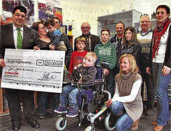 20 000 Euro: Steuler unterstützt drei Projekte