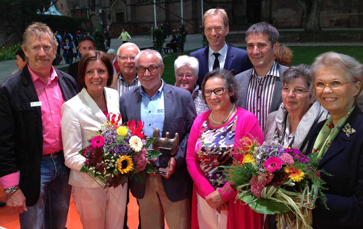 Ehrensache-Preis 2014 an Unnauer Patenschaft