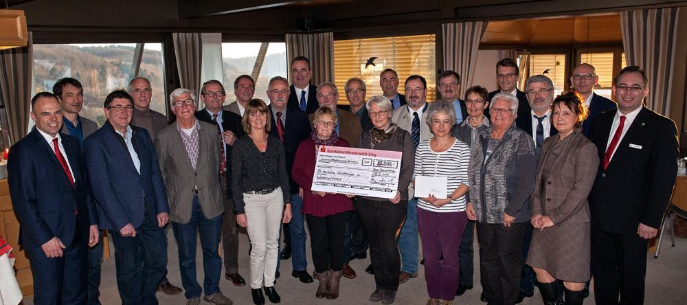 Erneut Unterstützung der Unnauer Patenschaft durch die Sparkasse Westerwald-Sieg