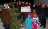 Großseifer Weihnachtbaumverkauf zugunster der Unnauer Patenschaft