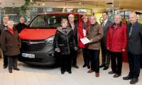 Unnauer Patenschaft übergab Lebenshilfe Westerwald ein neues Fahrzeug