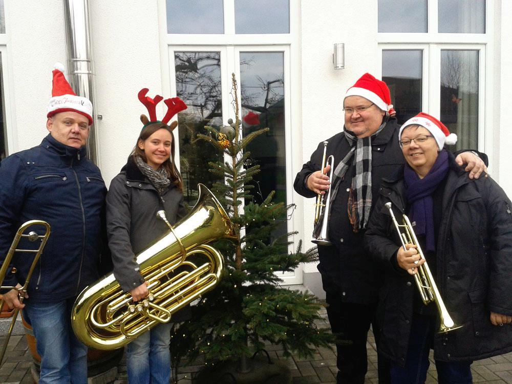 Dietmar, Susanne, Mirjam und Thilo Wengenroth