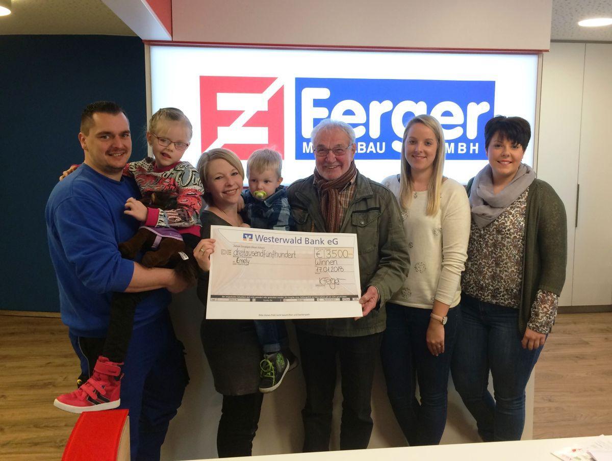 Spenden für Emely und Marie – 7.000 € für den guten Zweck